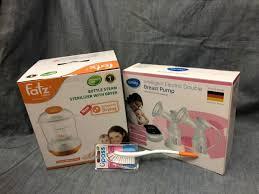 combo máy hút sữa điện đôisanity+máy tiệt trùng sấy khô fatzbaby Fb4906sl  tặng kèm chổi cọ upass UP7806F - Máy hút sữa Thương hiệu FatzBaby