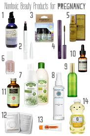 suggestions for organic vegan and nontoxic s safe for pregnancy including aesop