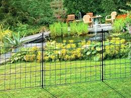 white wire garden fence. Flower Garden Fence This Is A Beautiful With Black Welded Wire . White