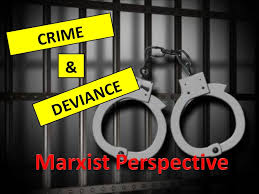 crime and deviance marxist approach