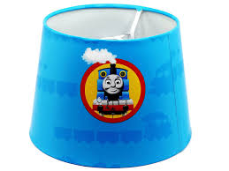 Kids Bedroom Lamp Thomas The Tank Engine Lamp Light Lampshade With Chrome Base Boys