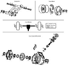 1997 honda trx250 fourtrax recon atv bearings & seals hyperparts Honda Foreman 500 Wiring Diagram 97 Honda Recon Wiring Diagram #37