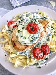Date Night Chicken Florentine | With Peanut Butter on Top