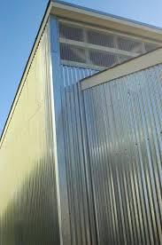 corrugated aluminum siding storage locker with corrugated aluminum siding corrugated aluminum siding s
