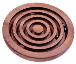 Wooden Maze Games Buy Wooden Labyrinth Board Game Ball in Maze Puzzle Handcrafted in 42