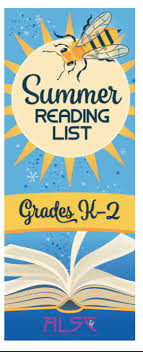 cover image k 2 summer reading list kindergarten 2nd grade cover image grades 3