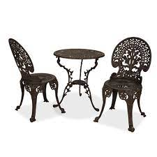 best wrought iron outdoor patio sets