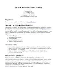 Lab Technician Resume Objective Resume Objective For Technician