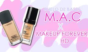 resenha base mac makeup forever hd plus glamour