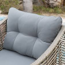 Belham Living Kambree All-Weather Wicker Deep Seating Chair with Cushion |  Hayneedle