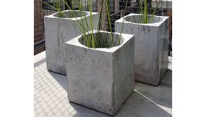 Concrete Planters Application