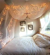 Queen Bed Canopy Bed Canopy With Lights Amazing Canopies With String ...