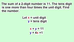 simultaneous equations word problems math chapter word problems with 2 variables maths linear equations word problems