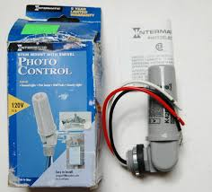 K4251 Light Sensor Intermatic K4251 120v Photo Control With Stem And Swivel Mounting