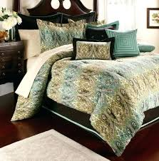 teal and brown comforter brown comforter sets king size teal bedding home in and plan 6 teal and brown comforter