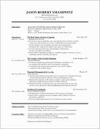 Good Finance Resume Examples Accounting Finance Resume Example