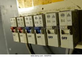 fuse box domestic stock photos fuse box domestic stock images old electrical installation fuse box stock image
