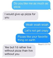 Pizza Love Quotes Gorgeous OMG That's So Cute And We Are Talking About Pizza And Love