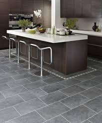 Wood Tile Floor Kitchen Floor Kitchen Flooring Tile Home Interior Design