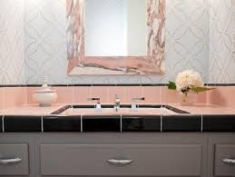 1940 Bathroom Design Stunning Reasons To Love Retro PinkTiled Bathrooms HGTV's Decorating