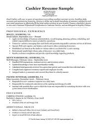 Effective Career Objective For Resumes Excellent Resumes Samples Cashier Resume With Career Objective