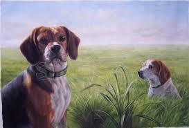 pet portrait oil painting 1