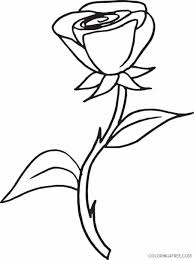 Select from 35478 printable coloring pages of cartoons, animals, nature, bible and many more. Printable Rose Coloring Pages For Kids Coloring4free Coloring4free Com