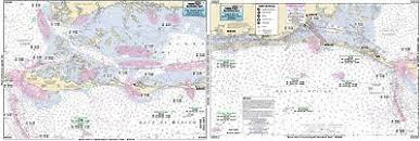 Pine Island Sound Chart Captain Segull Chart No Gnc325 Pine Island Sound Boca Grand Inlet Fl