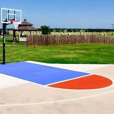 outdoor basketball court lines gvine