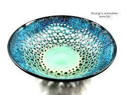 glass decorative bowls for centerpieces bowl glass decorative bowls