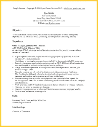 Sample Resume With Objectives Cool Resume Purpose Statement Examples Amazing Example Resume Objective