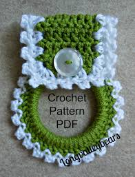 Kitchen Towel Craft Crochet Kitchen Towel Holder Pattern Pattern To Make Your Own