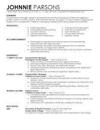 Objective For Resume Resume Objectives For Management Sports Management Sample 99
