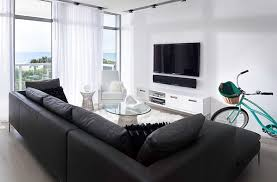 ... Fabulous minimal living room for a boutique hotel style residence