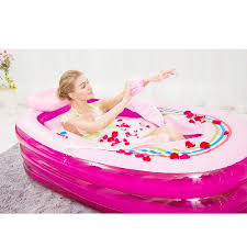 size 168 78 48cm new fashion inflatable bathtub large saults box folding double