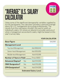 average salary calculator imas 2016 global salary survey strategic finance