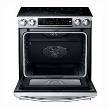 Pc Richards Kitchen Appliances Samsung 30 Slide In Electric Range Stainless Steel Pcrichard