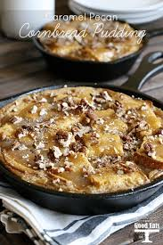 The best leftover cornbread recipes on yummly | leftover cornbread breakfast casserole, mini cornbread muffins, leftover thanksgiving pizza. Caramel Pecan Cornbread Pudding Grace And Good Eats