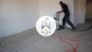 Kabel & leitungen im hornbach onlineshop & im markt: Haus Sanieren Neue Fussbodenheizung Eingebaut In Nur Zwei Tagen