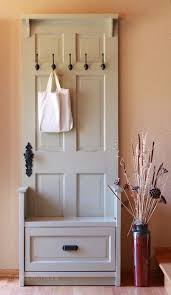 Entry Hall Bench Coat Rack Coat Racks amusing behind the door coat rack Door Drying Rack 19