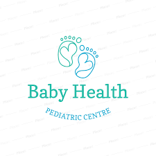 Cute Template Placeit Pediatric Clinic Logo Template With Cute Baby Feet