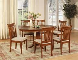 oval dining room tables and chairs 7 pc oval dinette dining room set table and