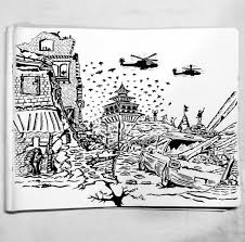 Download in under 30 seconds. Doodle On Nepal Earthquake 2015 Doddle Art Sketches Doodle Art