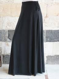 Fashion Design Skirt Modal Jersey Maxi Skirt