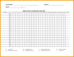 Employees Attendance Sheet Template Sample Attendance Sheet Yearly Record Template Employee Annual Excel