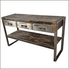 Vintage sofa table Repurposed Vintage Industrialcould Add Piece Of Sheet Metal To The Front Of The Drawers Of Wood Sofa Table Pinterest Vintage Industrialcould Add Piece Of Sheet Metal To The Front