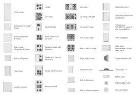 floor plan symbols. Plain Floor Alpplieancelibrary The Kitchen Layout  Throughout Floor Plan Symbols S