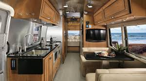 Travel trailers interior Modern Airstream Floor Plans Classic Travel Trailers Airstream