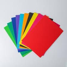 """<b>Набор цветного картона</b> """"Гофрированный"""" 10 листов 10 цветов ..."""
