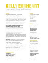 fresh, smart, good looking design unique-resume-samples